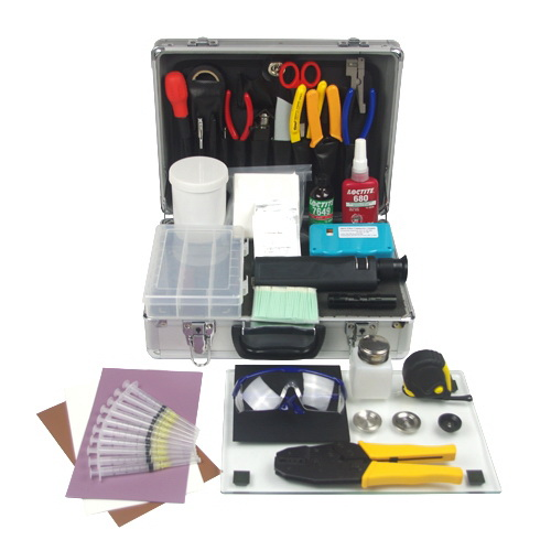 SC/LC Anaerobic Fiber Optic Termination Tool Kit