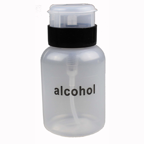 6 oz. Automatic Alcohol Dispensing Bottle, with Plastic Twist-Lock Pump