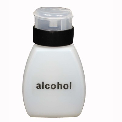 8 oz. Automatic Alcohol Dispensing Bottle, with Plastic Twist-Lock Pump