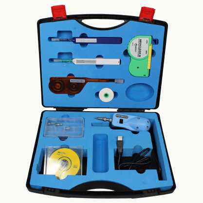 FIP-1000-D Fiber Optic Cleaning, Inspection Kit