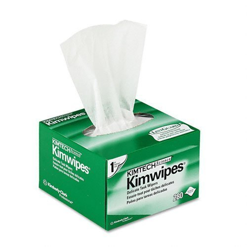 Kimwipes 34155 Fiber Optic Low-lint Wipes